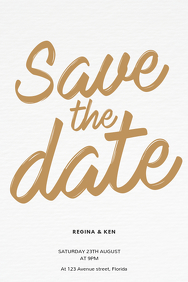 Clipart for powerpoint for save the date template clip transparent stock 900+ Save The Date Customizable Design Templates | PosterMyWall clip transparent stock