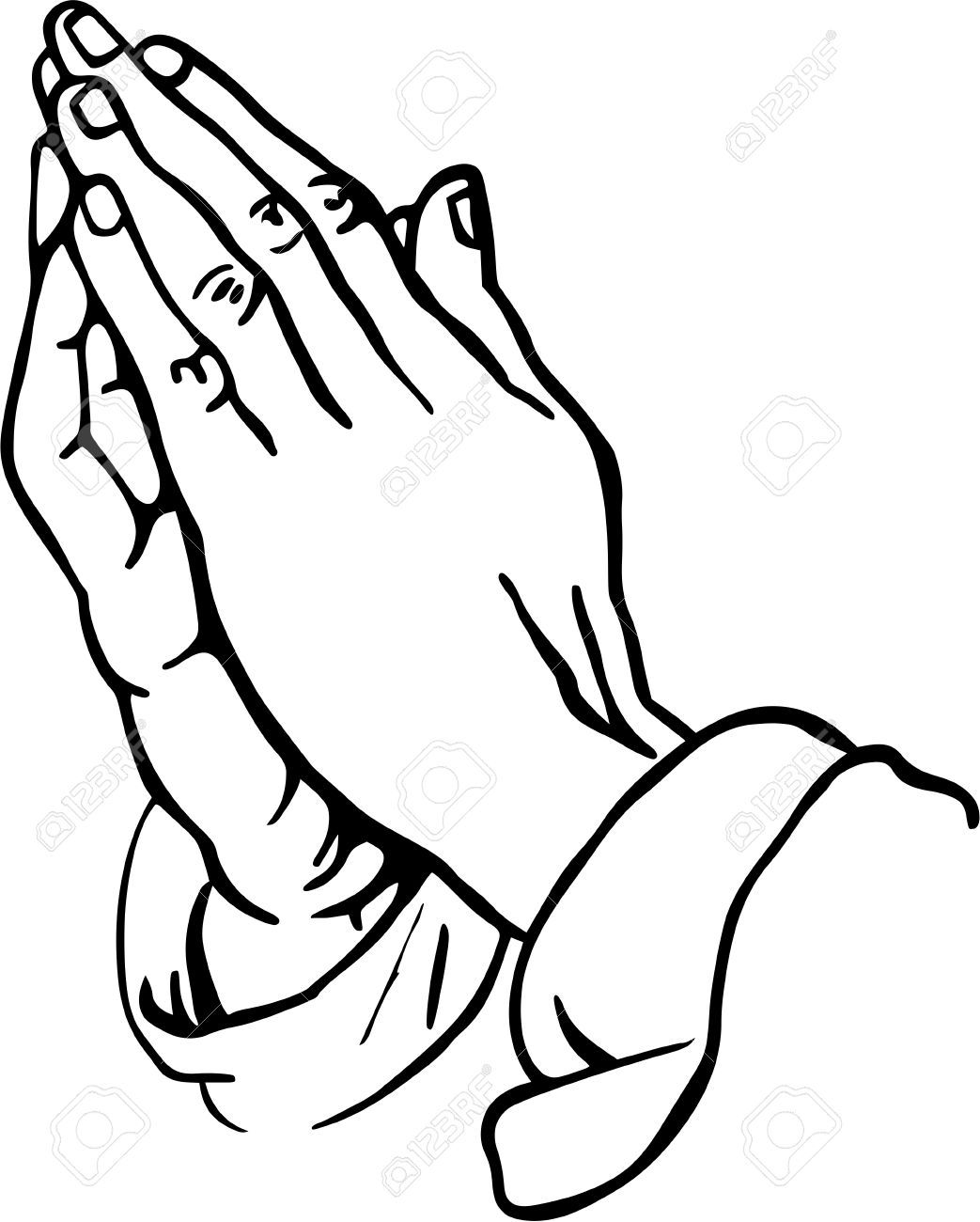 Clipart of praying hands picture library download Stock Photo | Craft Ideas | Praying hands tattoo, Praying hands ... picture library download