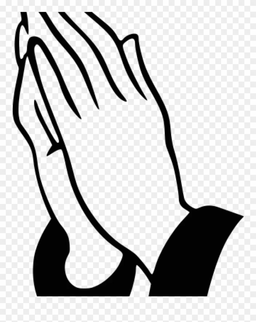 Clipart of praying hands black and white stock Prayer Clipart Prayer Praying Hands Clipart History - Praying Hands ... black and white stock