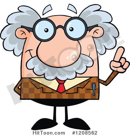 Clipart profesor svg free Professor Clipart #1208562: Professor Holding up an Idea Finger by ... svg free