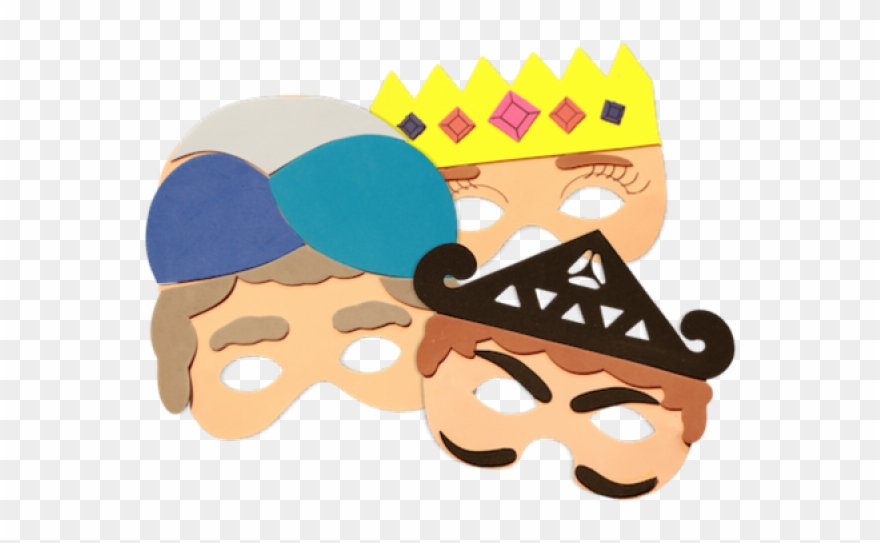 Clipart for purim picture library download Masks Clipart Purim - Png Download (#273295) - PinClipart picture library download