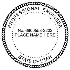 Clipart for registered engineer seal state of florida clip library stock 113 Best Engineer Seals images in 2019 | Acorn, Embossed seal, Seals clip library stock