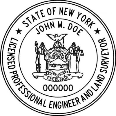 Clipart for registered engineer seal state of florida picture library download New York Eng/Surv- O Archives - PE Stamps picture library download