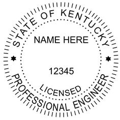 Clipart for registered engineer seal state of florida picture black and white stock 113 Best Engineer Seals images in 2019 | Acorn, Embossed seal, Seals picture black and white stock