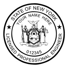 Clipart for registered engineer seal state of florida png black and white 113 Best Engineer Seals images in 2019 | Acorn, Embossed seal, Seals png black and white