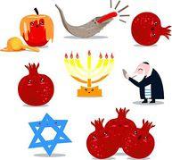 Clipart for rosh hashanah clip art royalty free library Rosh Hashanah Coloring Pages Clipart 2016 » Rosh Hashanah 2016 clip art royalty free library