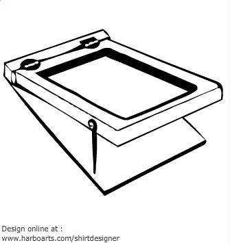 Clipart for screen printing png black and white stock Clipart for screen printing 1 » Clipart Station png black and white stock