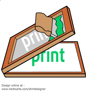 Clipart for screen printing svg freeuse stock 65+ Screen Printing Clipart | ClipartLook svg freeuse stock