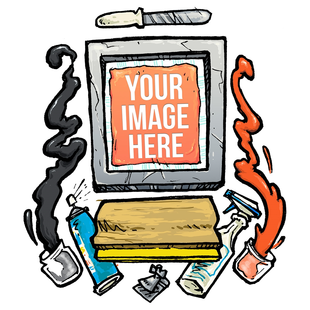 Clipart for screen printing image freeuse library Clipart for screen printing 3 » Clipart Station image freeuse library