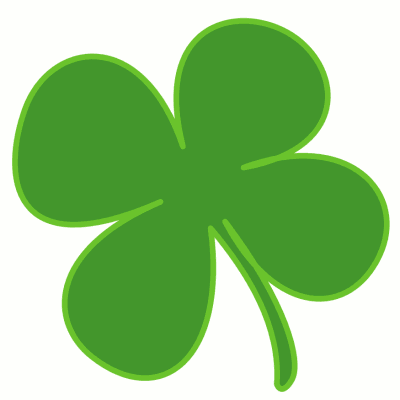 Shamrock clipart vector free transparent stock Free Shamrock Clipart - Public Domain Holiday/StPatrick clip art ... transparent stock