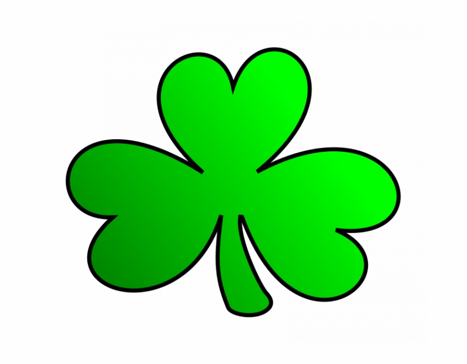 Clipart for shamrocks png black and white library Shamrock Pictures Free Free Clipart Green Shamrock - Irish Shamrock ... png black and white library