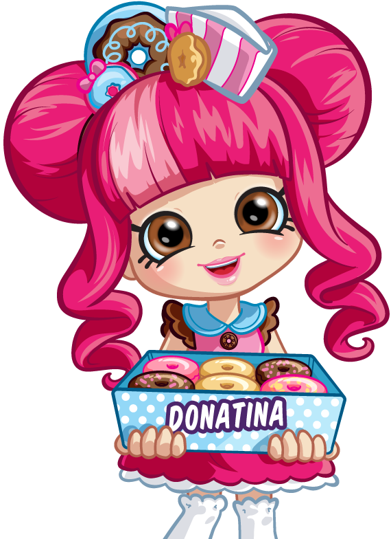 Shopkins crown clipart vector freeuse Character_Donatina.png | shopkins | Pinterest | Shopkins, Birthdays ... vector freeuse