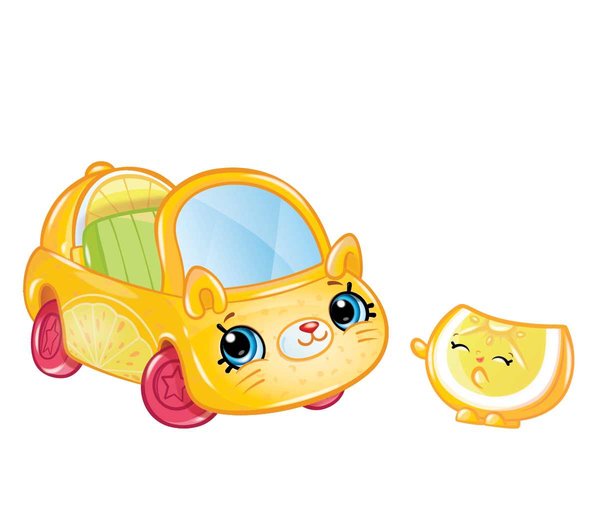 Clipart shopkins png library download Cutie Cars Characters Lemon Limo Shopkins Picture png library download