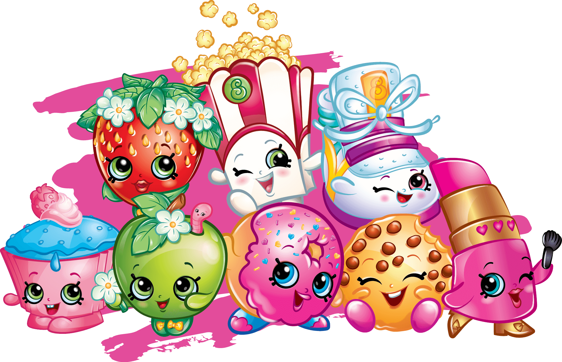 Shopkins season 4 clipart vector 40 Printable Shopkins Coloring Pages vector