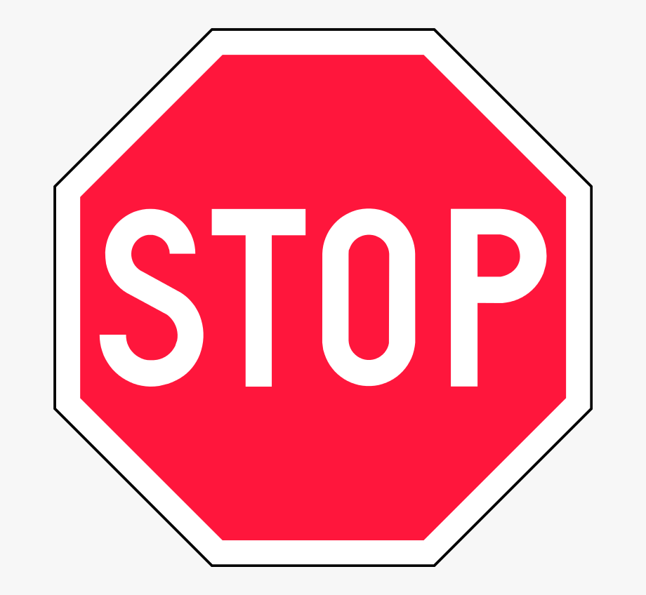 Clipart for sign that says free png royalty free stock Finland Road Sign - Red Stop Sign Clipart #1838612 - Free Cliparts ... png royalty free stock
