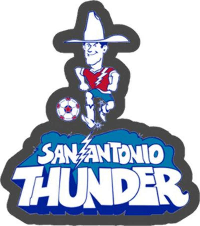 Clipart for soccer team names thunder jpg black and white library Spurs group files to trademark 1970s soccer team\'s name - San ... jpg black and white library