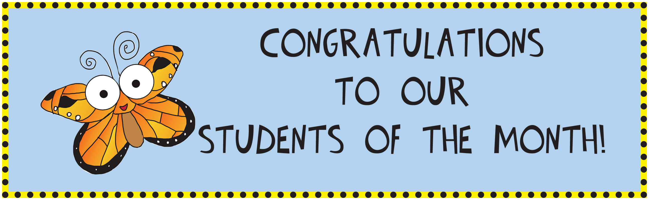 Clipart for student of the month banner free Student of the Month | P.S.135Q - The Bellaire School banner free