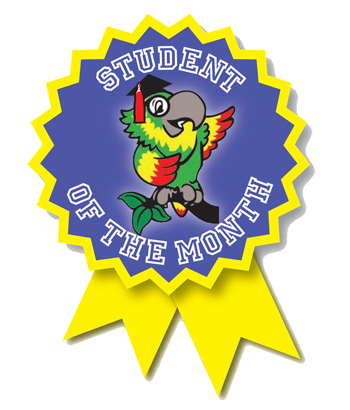 Clipart for student of the month picture royalty free download Student of the Month picture royalty free download