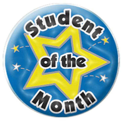 Clipart for student of the month image transparent download Student Of The Month Clipart - Clipart Kid image transparent download