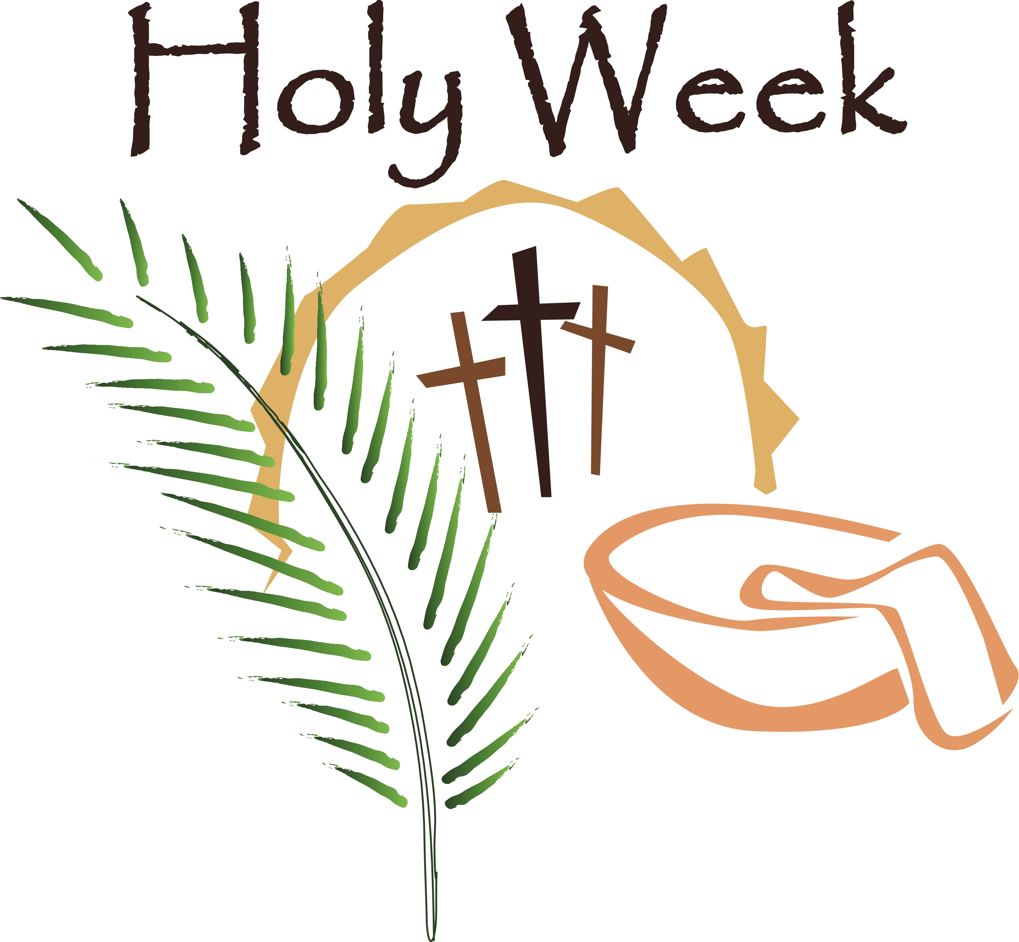 Holy saturday clipart clipart black and white Holy Week and Easter 2019 | Greenfield Hill Congregational Church clipart black and white