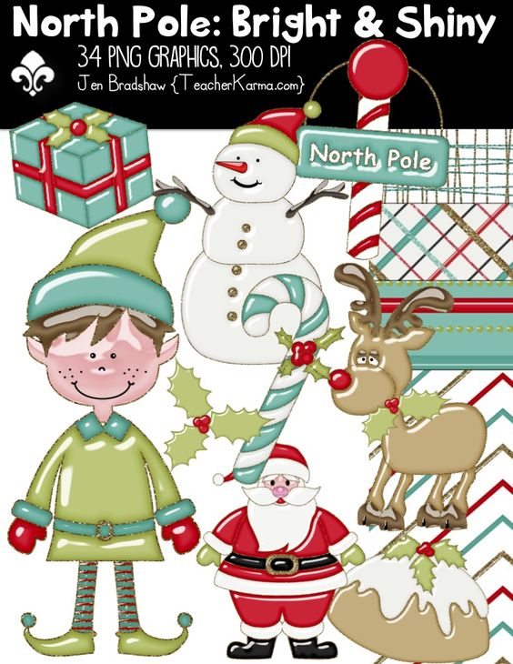 Clipart for teachers commercial use graphic royalty free stock North pole, Commercial and Classroom on Pinterest graphic royalty free stock