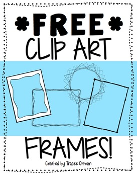 Clipart for teachers commercial use vector transparent stock Free Frames & Borders Clip Art For Commercial... by Tracee Orman ... vector transparent stock