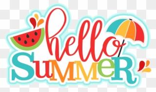 Clipart for teachers no background summer banner library stock Silhouette Design, Summertime, Die Cutting, Hello Summer, - School ... banner library stock
