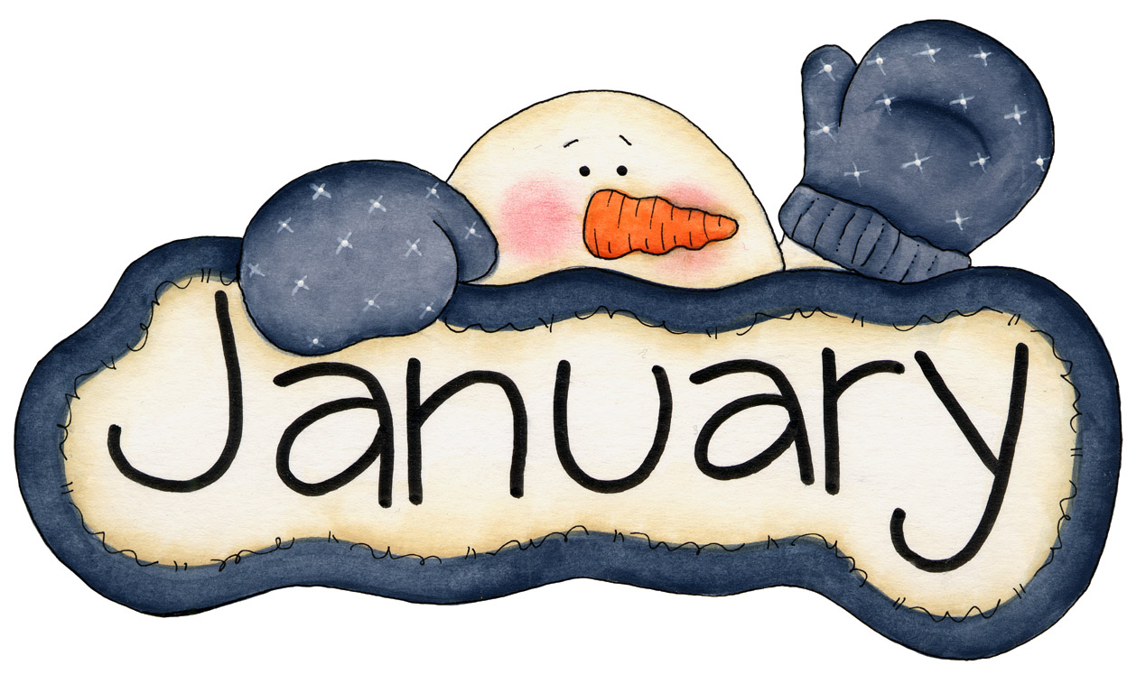 Clipart for the month of january banner free Month Of January Clipart - Clipart Kid banner free