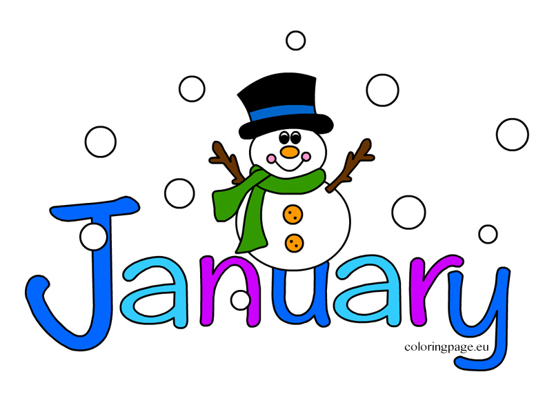 Clipart for the month of january transparent Clip Art January & Clip Art January Clip Art Images - ClipartALL.com transparent