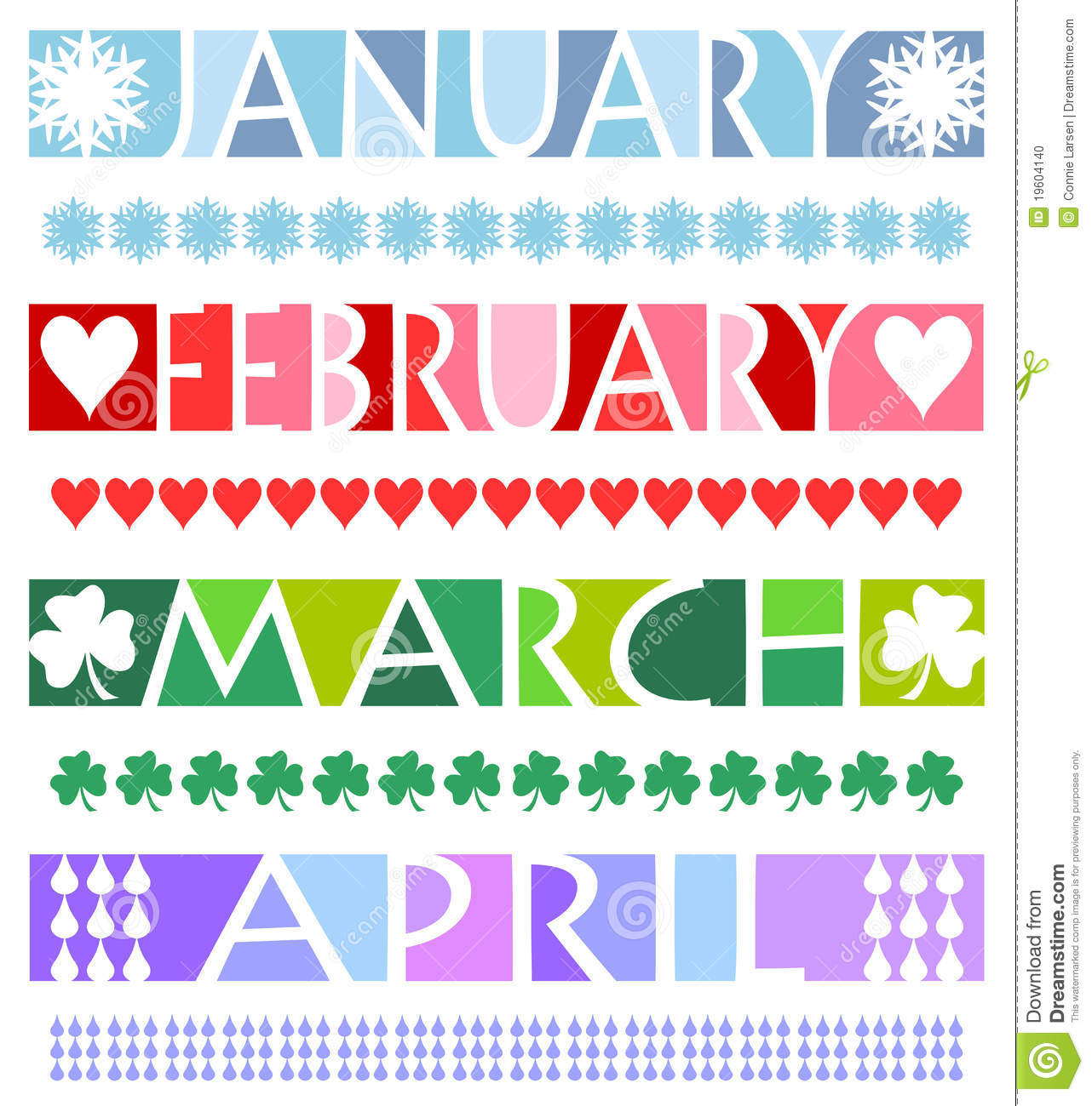 Clipart for the month of january svg library stock Month Of January Clipart - Clipart Kid svg library stock