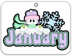 Clipart for the month of january clip black and white stock January Scenes | Month of January Winter Kids Clip Art Image - the ... clip black and white stock