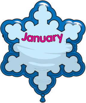 Clipart for the month of january clip art free library Free clipart january birthday - ClipartFest clip art free library