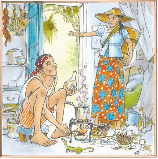 Clipart for the old man and his dream folktale clipart free download The Alchemy of Earth (a Burmese folktale)   The Times Record clipart free download
