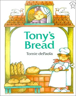 Clipart for the old man and his dream folktale transparent library Tony\'s Bread: An Italian Folktale by Tomie dePaola transparent library