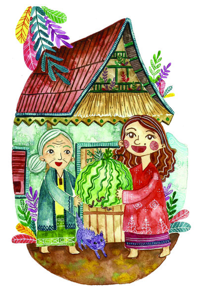 Clipart for the old man and his dream folktale clipart Five Most Popular Indonesian Folk Tales (and Their Subtexts) clipart