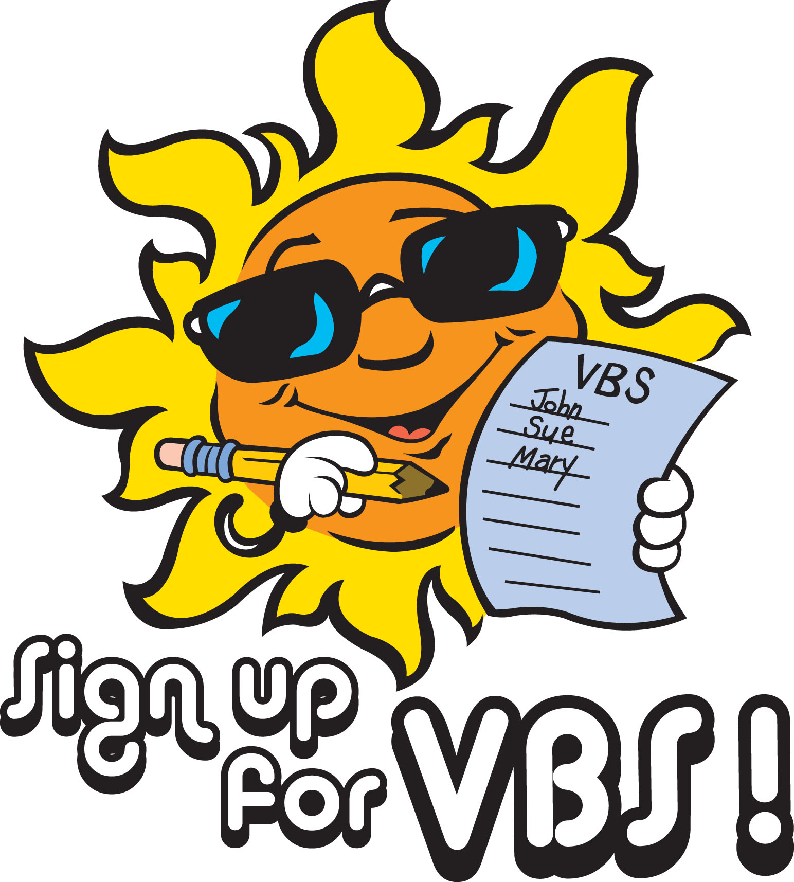 Clipart for vacation bible school image royalty free download Vbs Sign Up Clipart - Clipart Kid image royalty free download