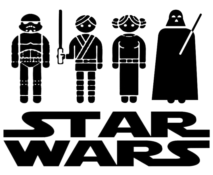 Clipart for vinyl cutter star wars graphic freeuse Star Wars Wall Art and Free Star Wars Cut Files! | DIY Printables ... graphic freeuse