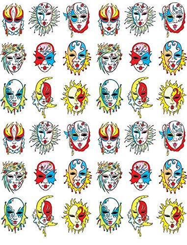 Clipart for waterslide decal free fine art freeuse Amazon.com: Masks - 11893 - Ceramic Decal - Enamel Decal - Glass ... freeuse