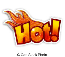 Sticker stock illustrations clip. Clipart for word hot food