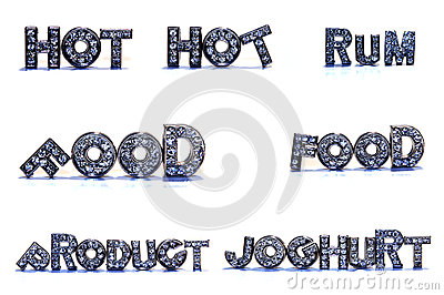 Clipart for word hot food. Related words on white
