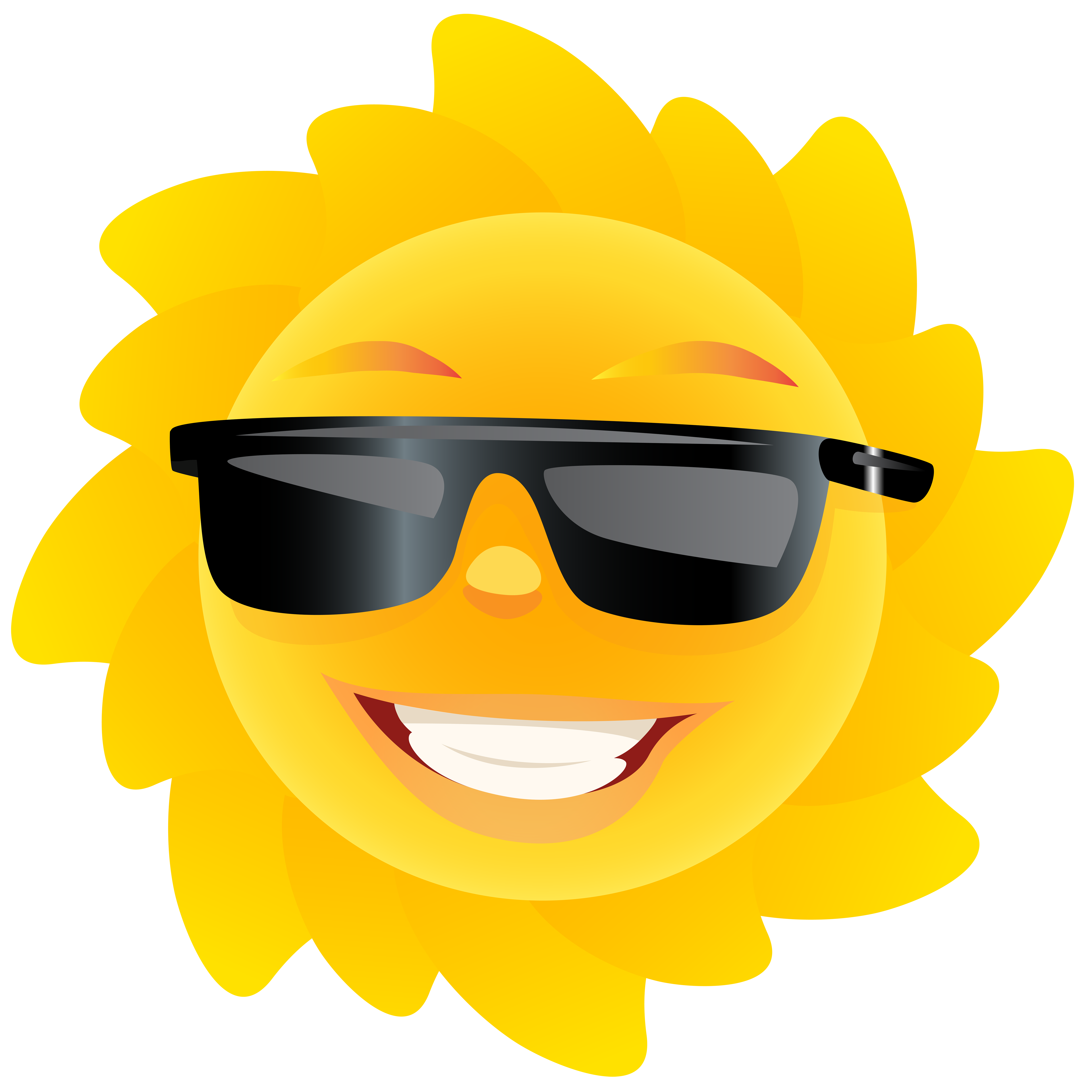 Cute sun smiling clipart royalty free stock Cute Sun Transparent PNG Clip Art Image | Gallery Yopriceville ... royalty free stock