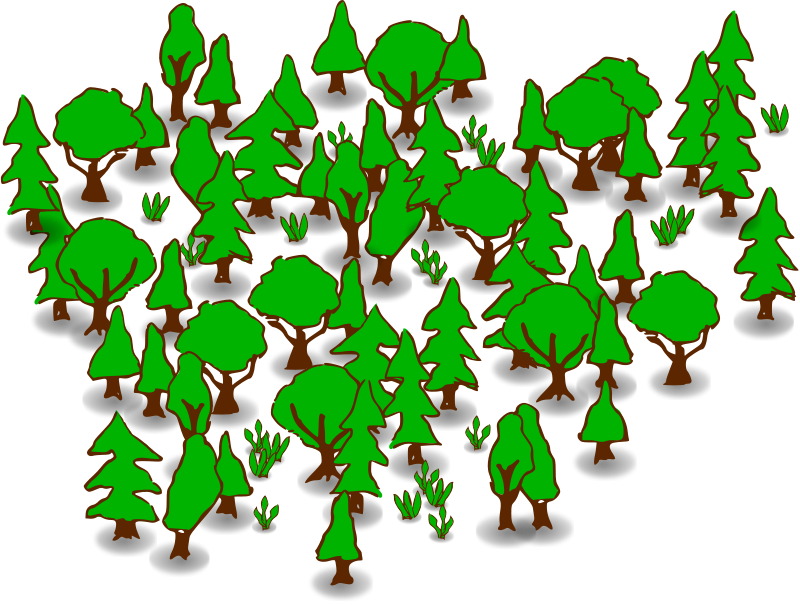 Planting tree clipart image free stock Forest Clipart Free | Clipart Panda - Free Clipart Images image free stock