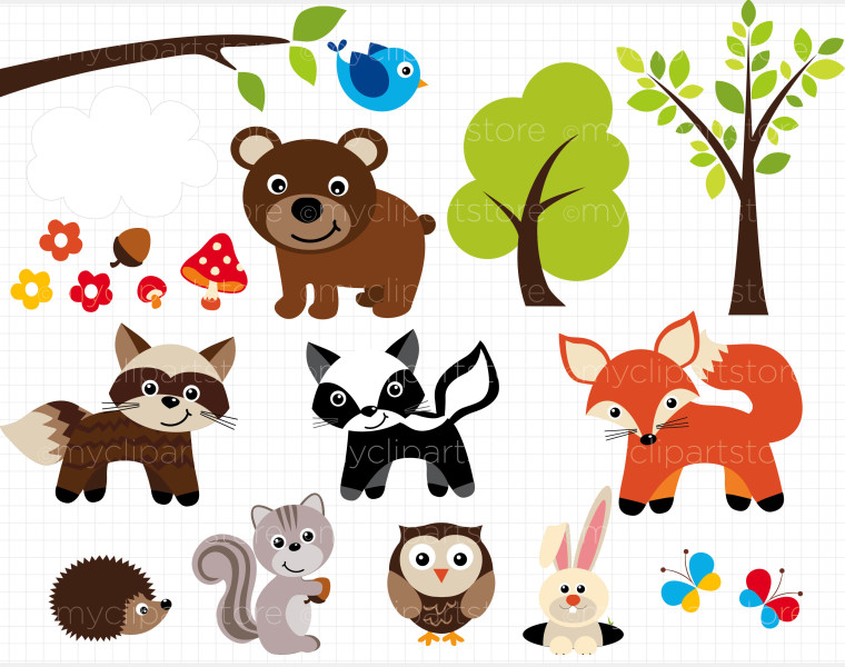 Clipart forest animals clip art royalty free download Free Forest Animal Cliparts, Download Free Clip Art, Free Clip Art ... clip art royalty free download