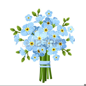Clipart forget me not image freeuse Forget Me Not Flowers Free Clipart | Free Images at Clker.com ... image freeuse