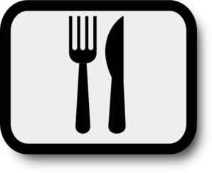 Clipart fork and knife clip free library Fork Knife Clip Art at Clker.com - vector clip art online, royalty ... clip free library