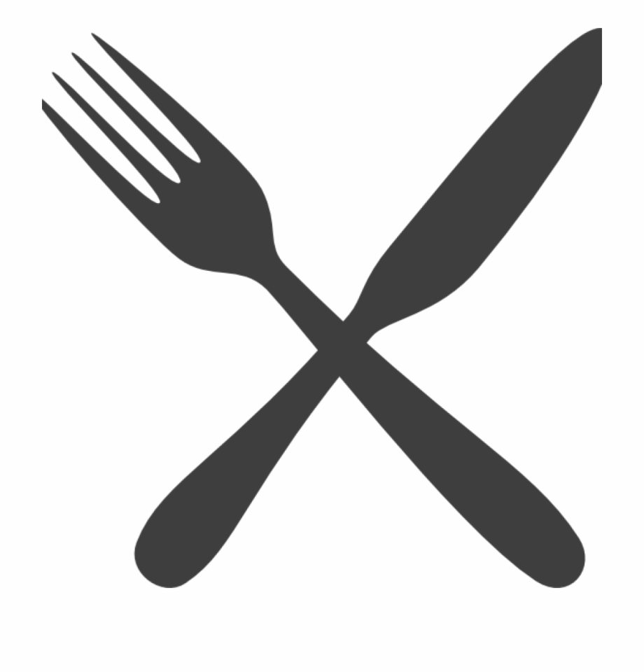 Clipart fork and knife jpg library download Fork And Knife Clipart Rainbow Clipart Hatenylo - Transparent Fork ... jpg library download