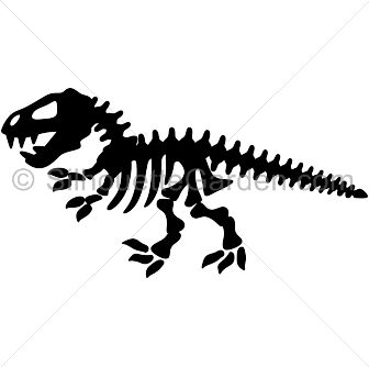 Clipart format svg jpg black and white Dinosaur skeleton silhouette clip art. Download free versions of ... jpg black and white