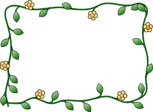 Clipart format svg. Bingkai best cie flower