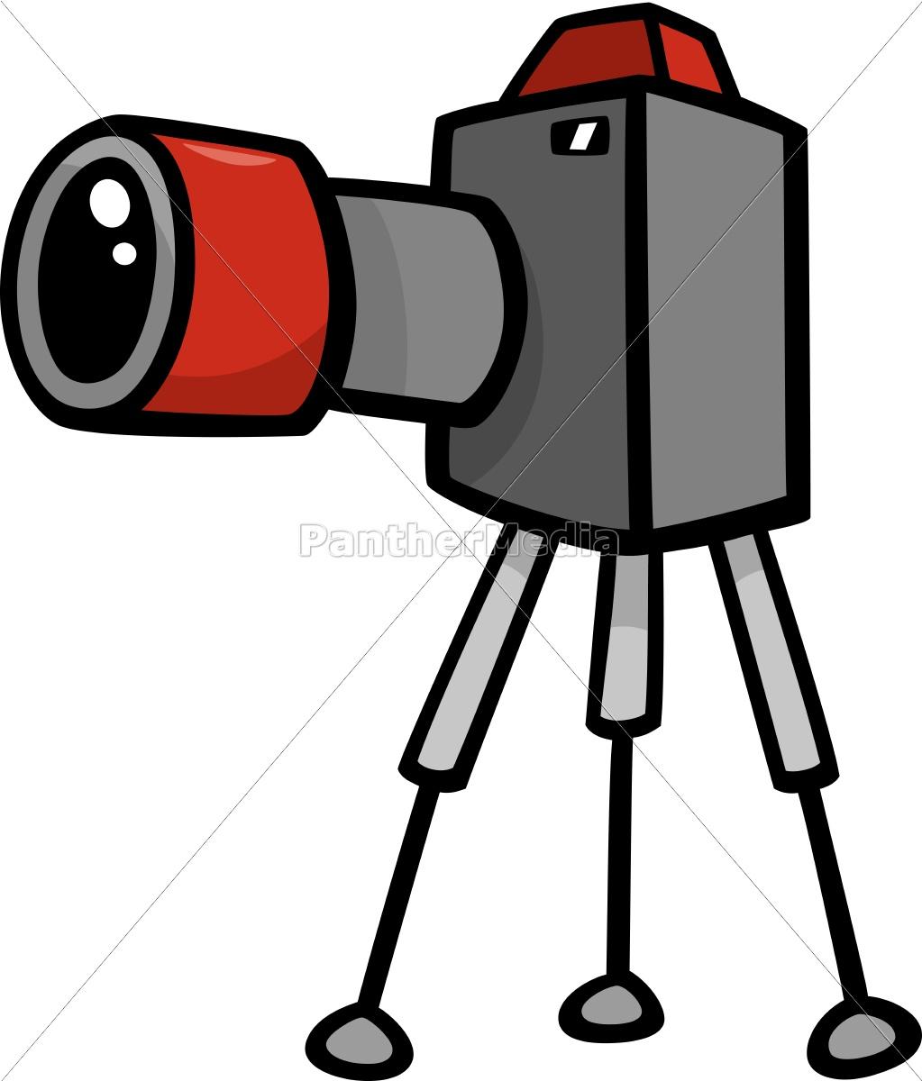 Clipart fotokamera graphic library stock Lizenzfreie Vektorgrafik 9755796 - kamera clip art cartoon abbildung graphic library stock