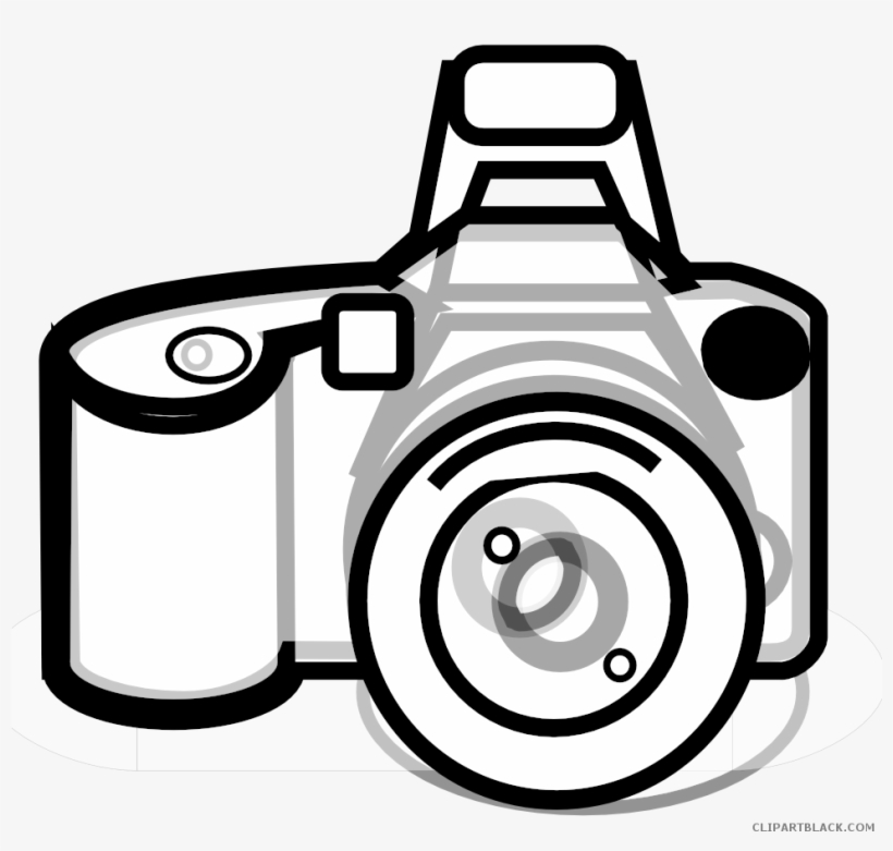 Clipart fotokamera jpg library download Clip Art Freeuse Stock Camera Black And White Clipart - Kamera Png ... jpg library download